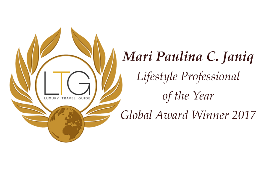 Mari Janiq awarded as Lifestyle Professional of the Global Awards 2017
